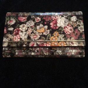 Floral Clutch/Crossbody